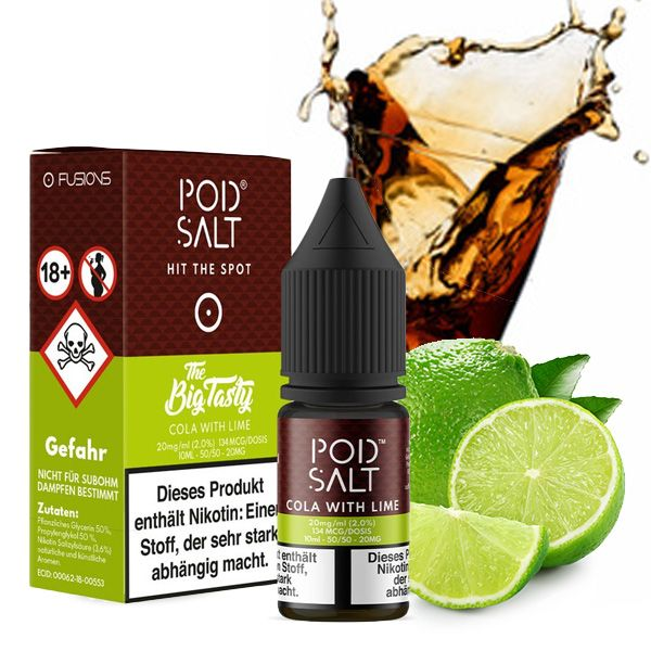 Pod Salt Cola with Lime