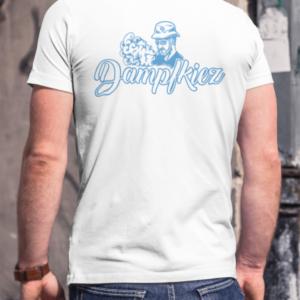 Dampfkiez T-Shirt Rückseite Weiss