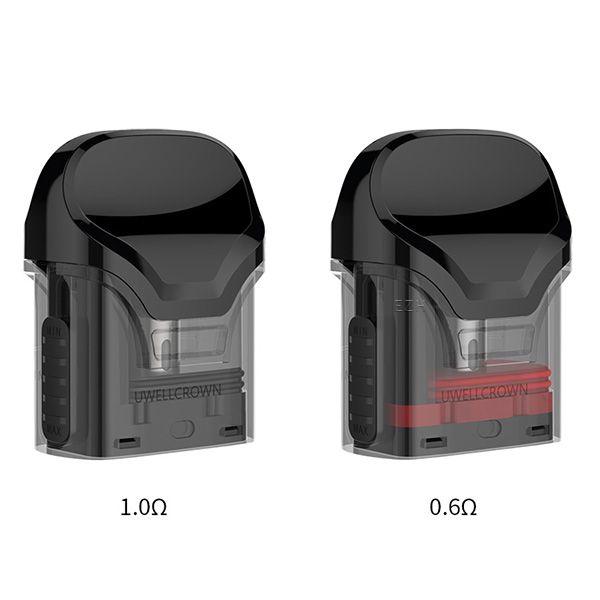 Uwell Crown Pod Tank 0,6 und 1,0 Ohm