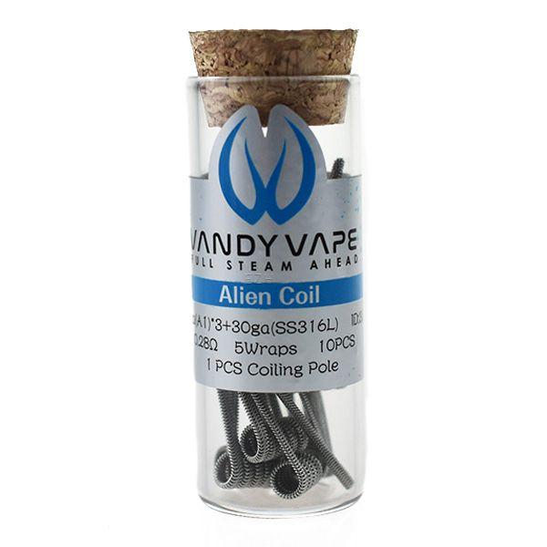 Vandy Vape Prebuilt Alien SS316L 0,28Ohm Coils