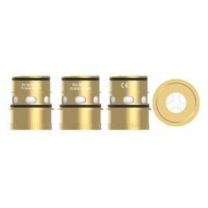 Vapefly Kriemhild Triple Coil Gold