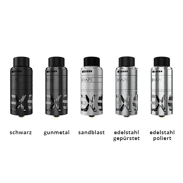 Exvape Expromizer TCX RDTA Selbstwickler alle